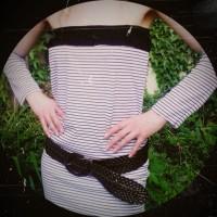 Sommerkleid mit Stulpen: O-weia